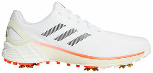 adidas ZG21 Golf Shoes H69228 White/Black/Solar Red Men's New