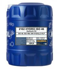 MANNOL Hydraulic Oil 46 Fluid 20L HLP 46 High Grade 20 Litres ISO 46 DIN 51524