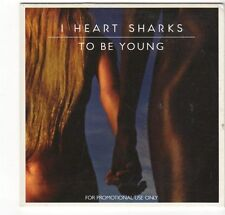 (EZ688) I Heart Sharks, To Be Young - 2014 DJ CD