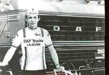 WILLIAM TACKAERT team DAF Lejeune Trucks Signed Autograph cycling Signé cyclisme