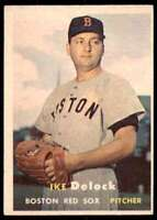 1957 Topps Ike Delock Boston Red Sox #63
