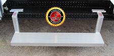 "Plattinum, Fold Up Fold Down Aluminum Step For 48"" Trailer Door Slip Resistant"