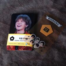 K-POP BIGBANG G-DRAGON TOP Photo Transparent Cards 25pcs Korea KPOP Star Gift