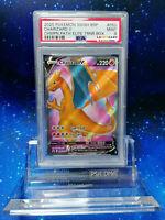 WOW! PSA Charizard V Champion's Path Full Art Holo Pokemon Glurak SWSH 50