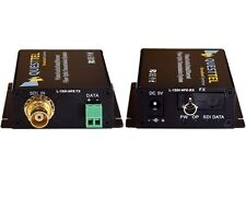 1 Channel  HD/SD-SDI Over Fiber Extender Kit TX/RX 20km (Comparable with Kramer)