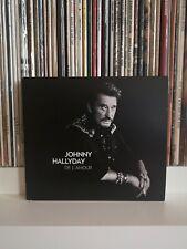 Johnny Hallyday De L Amour CD +DVD Edition Collector
