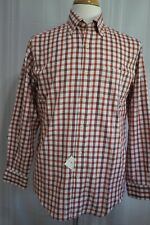 Lyle & Scott Scotland Men's Long Sleeve Button Front Shirt size S New