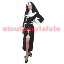 Déguisement  de Bonne soeur,Nonne,Sister Act,Religieuse,Femme,Carnaval,Costume