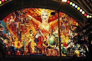 Harrah's sexy Mural Las Vegas original hand signed Giclee photograph by Arnold