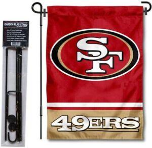 San Francisco 49ers House Flag Double Sided Spring Garden Flag 12 x 18 Outdoor