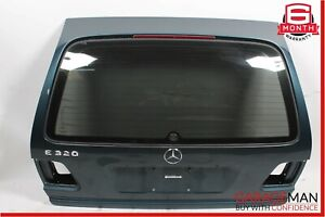98-02 Mercedes W210 E320 Wagon Rear Trunk Tailgate Lift Gate Panel Shell Green