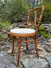 Antique MCM Authentic Michael Thonet No. 36 Bentwood Beech Bistro Dining Chair