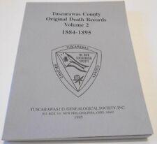 Tuscarawas County Ohio Death Records 1884-1895 Vol. 2