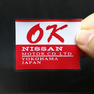 OK NISSAN DECALS, STICKERS for Inside/Outside Window, Datsun, 240Z, 260Z, 280Z