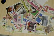 35 St Vincent postage stamps postal philately philatelic kiloware mail Caribbean