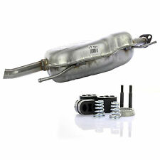 Auspuff Endschalldämpfer Endtopf + Montagesatz für Opel Astra G CC 1.4 - 2.2 16V