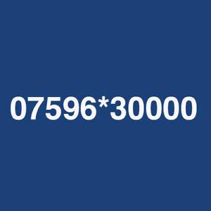 GOLD / PLATINUM MEMORABLE VIP MOBILE PHONE NUMBER SIM