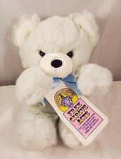 "Vintage Circus Circus Las Vegas Plush 12"" Tubby Baby Blue Teddy Bear Prize w/Tag"