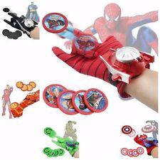 Superhero Launchers Gloves Toy Spiderman Superman IronMan Batman Hulk Kids Gift