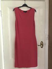 Jones New York Hot Pink Knit Sheath Dress Size M ; PRICE DROP- FREEPOST