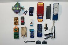 Transformers G1 Lot for Parts or Repair Sharkticon Megatron Punch Wildrider