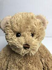 Gund Godiva Plush Teddy Bear 2008 Tan Light Brown