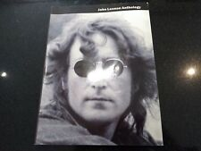 "JOHN LENNON ""ANTHOLOGY"" MUSIC BOOK BEATLES (GUITAR, VOCAL) 37 TRACKS IMAGINE"