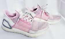 Adidas UltraBOOST 19 Running Shoes Womens size 9 True Pink Orchid Gym EF6517