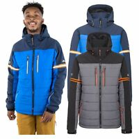 Trespass Dursey Men Ski Jacket Padded Windproof for Snowboard with Snowskirt