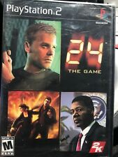 24 The Game (Sony Playstation 2 ps2) NEW Factory Sealed