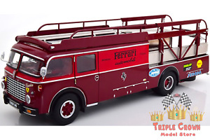 Fiat 642 RN2 Babs Ferrari Race Truck Dark Red 1:18 Cmr