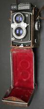 Vintage Yashica MAT EM COPAL MXV 1:3.2 1:3.5 f=80mm Camera In Leather Case