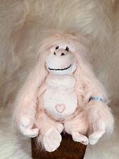 "Plush Ganz Webkinz Pink GLAMOROUS GORILLA 9"" Plush Monkey HM477 Has Code 👀"