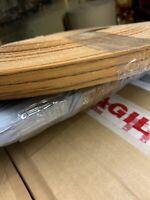 Plastic Pre Glued Iron on Edging Tape/Edge 19mm wide X 10m (30 foot) Zebrano