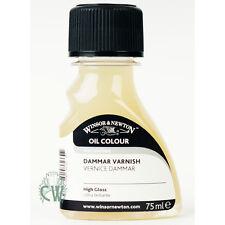 Winsor & Newton Artists Dammar Varnish 75ml. Quick Drying Gloss Varnish.