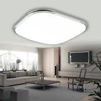 12W Deckenleuchte LED Wohnzimmer Deckenlampe Küche Badleuchte Kaltweiß IP44