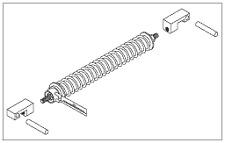 Spring Arm Spring & Guide Kit for Pelton & Crane