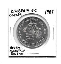 (J) 1987 Rocky Mountain Dollar Canada Trade Dollar Kimberly BC