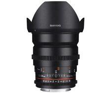Objectifs manuels pour appareil photo et caméscope 24 mm