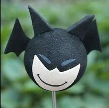 Cute Free Happy batman Antenna Balls Car Aerial Ball Antenna Topper Decor Ball