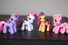 My Little Pony PONYVILLE 4 Mini Figures LOT G3 Characters - 2006 2007 2008