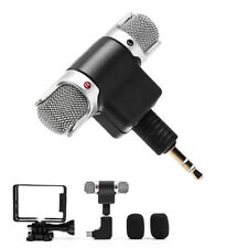 3.5mmPlug Mini USB Microphone + Frame + Adapter For GoPro Hero4 3+3Accessories3C