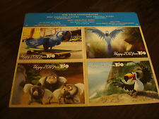 """RIO 2012 Oscar postcards for Best Animated Film, Best Song """"Hot Wings"""" Will.i.am"""
