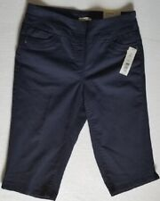 Wesbound Woman's The Park Ave Fit Skimmer Short ,Navy, Size 6