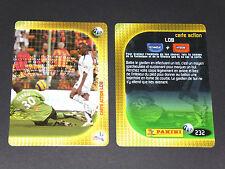 KALOU PARIS SAINT-GERMAIN PSG CARTE ACTION PANINI FOOTBALL CARD 2006-2007
