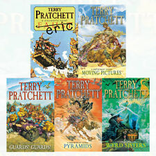 Discworld novel series 2 :6 to 10 books collection set by Terry Pratchett NEW UK