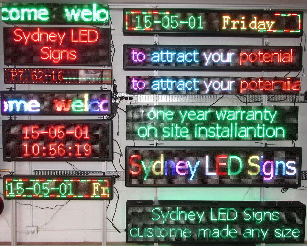 Sydney LED Signs