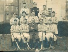 More details for 1945 1946 royal air force raf 1st hockey xi team named on back 7.75*6