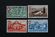 Timbre SUISSE / Stamp SWITZERLAND - Yvert et Tellier n°419 à 422 n** (CYN9)