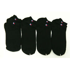 New 8 Pairs Men Cotton Low Cut Ankle Socks Black Athletic Casual No Patter #1-3